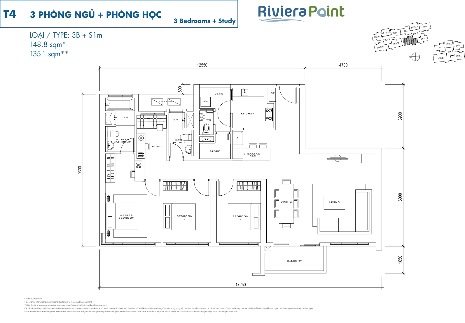 Riviera Point Quan 7 Can Ho 3 Phong Ngu T4-3BS1M